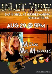 Mike McManus @ Inlet View BAR & GRILL AT HUGHES MARINA | Shallotte | North Carolina | United States